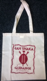 "Jah Shaka ""Guidance"" Tote Bag (Red Print)"